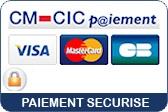 Paiement sécurisé par CM-CIC